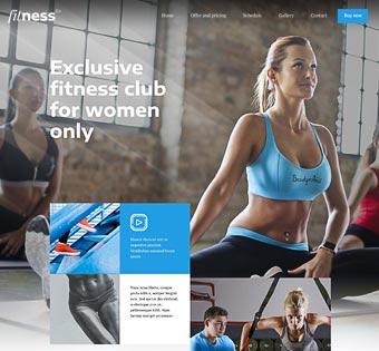 theme fitness wp - Как создать сайт: все что нужно знать о создании сайта самому и конструкторах сайта