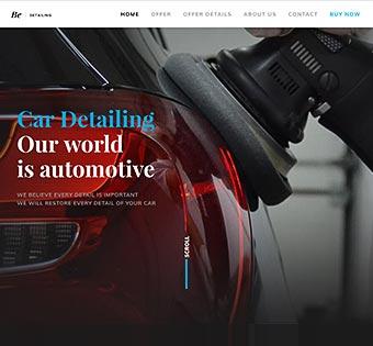 wp car detailing2 - Как создать сайт: все что нужно знать о создании сайта самому и конструкторах сайта