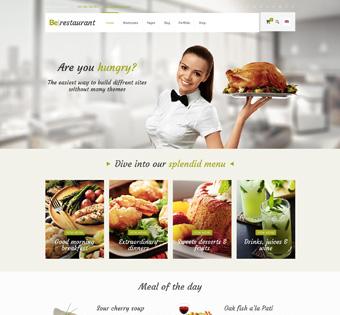 wp restaurant - Как создать сайт: все что нужно знать о создании сайта самому и конструкторах сайта