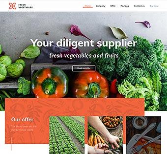 wp vegetables - Как создать сайт: все что нужно знать о создании сайта самому и конструкторах сайта
